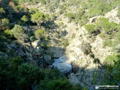 Hoyo de Pinares;Valle de la Pizarra y los Brajales-Cebreros;valverde de los arroyos cascada valle ir